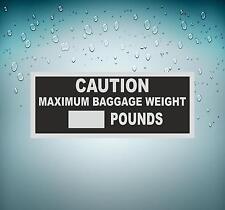 Autocollant sticker macbook voiture avion aviation aeroport maximum bagage