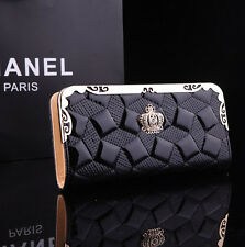Women Fashion Clutch Leather Long Handbag Coin Purse Card Holder Lady's Wallet