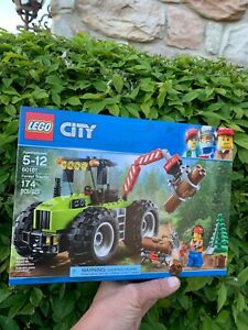 LEGO CITY Forest Tractor (60181) 174 pcs New Sealed Retired Set