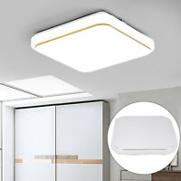Modern LED Ceiling Light Round Panel Down Lights Bathroom Kitchen Bedroom Lamp
