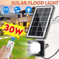 30W 27 LED Solar Floodlight Light IP65 Garden Yard Wall Lamp Street  Y
