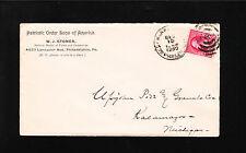 Patriotic Order Sons of America W Stoner National Master 1890 Philadelphia $