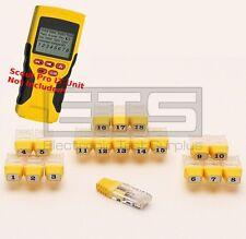 Klein Tools VDV Scout Pro LT VDV526-055 RJ45 Remote Identifier Mapper IDs 1-19