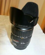 Canon EF 28-135 mm f/3.5-5.6 IS USM with Hoya Pro1 Filter and EW-78B Hood
