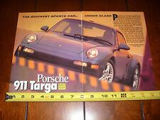 1996 PORSCHE 911 TARGA - ORIGINAL ARTICLE
