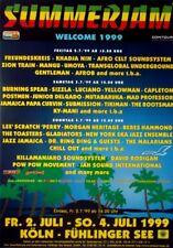 SUMMER JAM - 1999 - Konzertplakat - Freundeskreis - Gentleman - Reggae - B