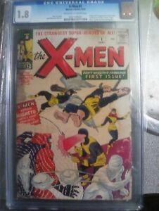 X-Men #1 CGC 1.8 - Universal