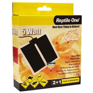 Reptile One Heat Mat 5w 14x15cm Lizard Habitat Thermal environment Heater