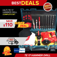 Hilti Te 17 Preowned Original Strong With Free Extras Durable Fast Shipping