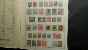 Barbados stamp collection on Scott Int'l pages w/ 309 or so stamps to 1979