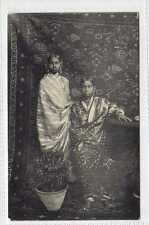 (Lb4330-408)  Bengali Girls,  c1920  Unused G-VG