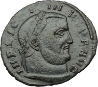 LICINIUS I Constantine the Great enemy 312AD Ancient Roman Coin NUDE Zeus i31613