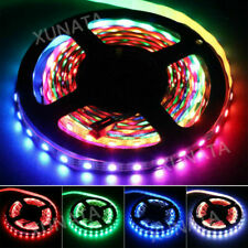 1-5M DC 5V 5050 WS2811 WS2812B IC RGB LED Flexible Strip Lights 30/60LED/M Lamp