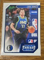 Luka Doncic NBA Panini Chronicles 19-20 Threads No. 100 Dallas Mavericks