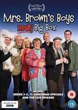 MRS BROWNS BOYS Borwn's Really Big Box Set Series 1-3+Xmas Specials+ Live DVD