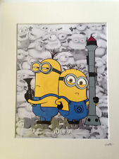Despicable Me - Minions - Bad Boys -  Hand Drawn & Hand Painted Cel