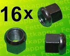 16 x Kugelbundmutter M18x1,5 DIN 74361 A verz. Radmuttern - Kugelbundmuttern