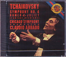 Claudio credesse: Tchaikovsky Symphony No. 4 Romeo and Juliet CBS CD 1989 Chicago