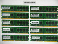 370-13530 370-13569 398038-001 41X4256 10GB 10X1GB  PC2-5300 UDIMM