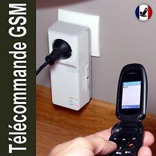 Télécommande secteur par téléphone portable GSM SMS thermostat