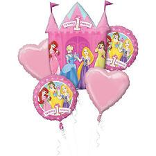 Disney Princess Balloon Bouquet 1st Birthday Party Decoration Supplies First 5pc