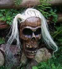 Maske Indianer Holzmaske Wandmaske Indianerfigur Holz Indianermaske Häuptling