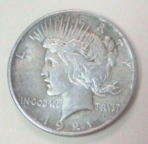 1921 Peace Silver Dollar - Key Date Coin