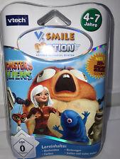 **NEU** vtech V.Smile Monsters vs Aliens Lernspiel 4-7 Jahre **OVP**