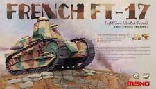 Meng-model 1 35 French Ft-17 Light Tank (riveted Turret)