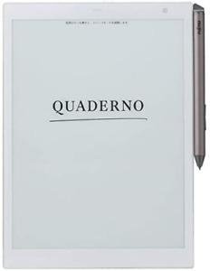 Fujitsu FMV-DPP04 10.3 type Electronic paper Quaderno A5 size E-book reader New