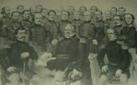 CHAMPIONS OF THE UNION Army & Navy Generals Frémont Sherman Currier & Ives Print