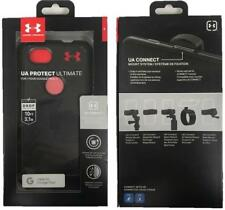 New Under Armour UA Protect Ultimate Black / Red Case Cover for Google Pixel 2