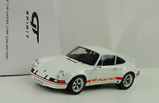 1973 Porsche 911 2.8 RSR Street blanco / red sign / blanco 1:18 GT Spirit ZM071