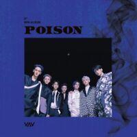 VAV 5th Mini Album [POISON] CD+88p Photobook+Folded Poster(On Pack)+Photocard