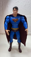 "DC Superman Returns Brandon Routh 14"" Action Figure Collectible"