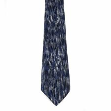 """Stafford Men's 100% Silk Abstract Neck Tie Blue Classic 4"""" x 61"""" Long"""