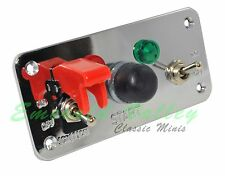 Classic Mini New Starter Safety Panel With Red & Green Light & Two Switches