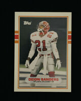 1989 Topps Traded Football Deion Sanders #30T Rookie Card Atlanta Falcons *MINT*