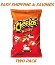 Cheetos Crunchy Cheese Flavored Chips 8.5 Oz PACK OF TWO EASY SHIPPING CHEAP