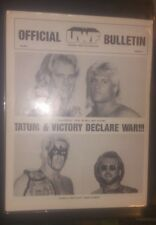 1986 UWF Official Bulletin Vol1 #2 First Appearance STING Rookie SUPER RARE