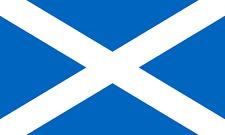 Scotland Scottish UK Country Flag Iron On T-Shirt Transfer A5