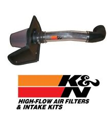 K&N 77 Series Polished Air Intake System fits 2003-2009 Hummer H2 6.0L & 6.2L V8
