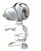 Baccarat Snoopy crystal figure Rare Figure with Tracking