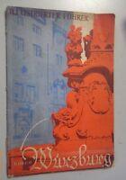 Illustrierter Führer durch Würzburg ca. 1920 / Chronik
