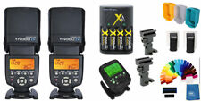 Yongnuo YN-560IV 2PC Wireless Flash Speedlite ProKit+ YN560-TX Pro transmi Canon