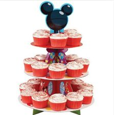 Disney Mickey Mouse 3 Tier Cupcake / Treat Stand Decoration - 1512-7070