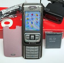NOKIA E65 SLIDER-HANDY SMARTPHONE UNLOCKED BLUETOOTH KAMERA MP3 WLAN WIE NEU BOX