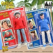 GILLIGANS ISLAND; GILLIGAN & SKIPPER; 8 INCH ACTION FIGURES,MOSC NEW  FTC