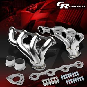 FOR FORD 302/5.0 V8 SMALL BLOCK TIGHT FIT RACING STREET-ROD EXHAUST HEADER+BOLTS