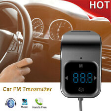 Bluetooth Car Fm Transmitter Hands-free Radio Touch Control Dual Usb Charger Hot